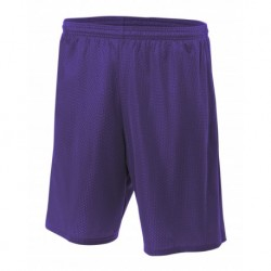 """A4 A4N5293 Adult Lined Tricot Mesh 7"""" Short"""
