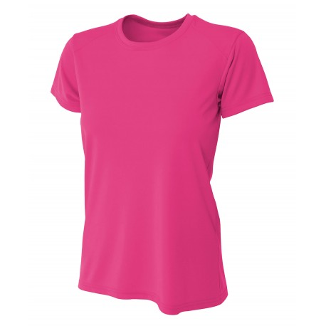A4NW3201 A4 A4NW3201 Womens Cooling Performance Tee FUCHSIA
